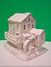 LENOX MISTLETOE PARK MILL 2012 NEW in BOX Village Treasures Series