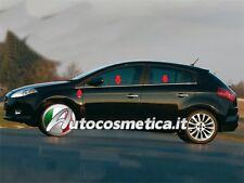 modanature Cornici Sottofinistrini Profili in Acciaio Cromo 6 PZ.FIAT BRAVO-