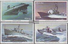 Zuid-Afrika 597-600 (compleet.Kwestie.) First Day Cover 1982 Marinebasis Simonst