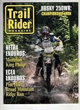 Trail Rider Motorcross Magazine Aug 1999 Husky 250WR Monahan King Philip