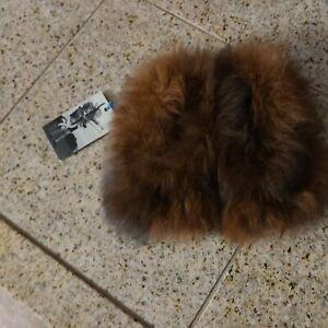 Waddler Alpaca Fur Slippers children's Slippers