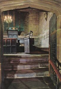 Chester Cathedral. Consistory Court Gordon Fraser postcard. Written on (1970) FC