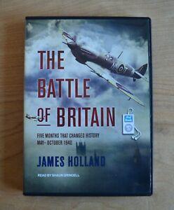 The Battle of Britain - James Holland - Unabridged Audio Book - 3 x MP3CDs