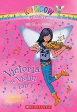 Victoria the Violin Fairy (Rainbow Magic, Music Fairies #6)-ExLibrary