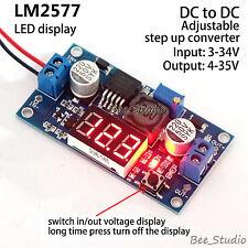 LED Display DC-DC Boost Converter Step up 3V-34V to 5V 9V 12V 24V Power Supply