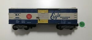 "American Flyer #983 MISSOURI ""EAGLE MERCHANDISE SERVICE"" PACIFIC BOXCAR.!"