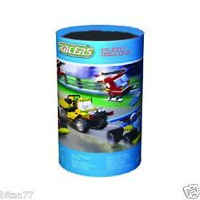 501 Pcs Building Blocks Racer - Helicopter Racing Cars In Storage Bucket COGO