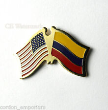 Colombia National Country World Flag Combo Lapel Pin 1 Inch