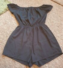 New Look 915 black short playsuit age 14 years