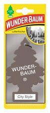 Wunderbaum City Style - Original Lufterfrischer Duftbaum Auto Haushalt Camping