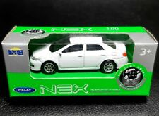 Toyota Corolla E140 E150 White Welly NEX 52292 1:64 1:60 diecast car model