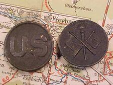 ORIGINAL WWI US / SIGNAL CORPS COLLAR DISK SET