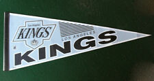 "Vintage 1980's Los Angeles Kings NHL 30"" Full Size Pennant Flag Banner Hockey"