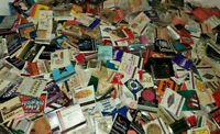 FUN LOT OF 50 RANDOM VINTAGE MATCHBOOKS NO DOUBLES FROM HUGE COLLECTION