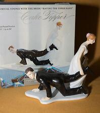 Wedding Cake Topper Bridal Shower Weddingstar Groom Bride Having the Upper Hand