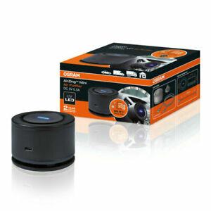 Purificatore e ionizzatore daria per auto NIOSS con 2 porte di ricarica USB ultra veloci e luce bianca di funzionamento fumo Rimuove polvere allergeni e cattivi odori Deodorante per auto