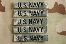 Us Navy Usn Ia Service Branch Army Acu Hook Back Camouflage Camo Uniform Tape