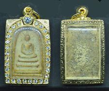 Phra Somdej LP toh Wat Rakang Thai Buddha Amulet Pendant Magic RARE Luck Old.Z07