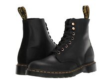 Women's Shoes Dr. Martens 1460 PASCAL Leather Boots 25359001 BLACK SOAP STONE