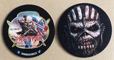 Trooper Beer Mat Book Of Souls Iron Maiden Robinson's Beer Mat Stockport Rare