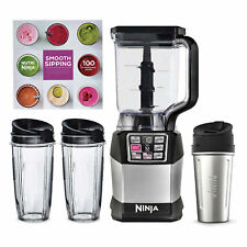 Ninja Auto IQ Blender System & 72 oz. Pitcher, 3 Nutri Ninja Cups, & Recipe Book