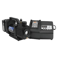 Mastercool 90058 Aut 15 Cfm Cordless Vacuum Pump Complete Kit New