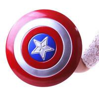 Avenger Super Hero Captain America Shield Helmet Cosplay Kids Plastic Xmas Gift