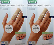 8 Sensiplast Fingerbandage Zehenbandage Fingerverband Zehenverband Fingerschutz