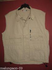 Clique Arlington Gilet Vest ( Color  Cement ) Size - TAG STATES XXL - NEW -