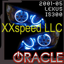 ORACLE Lexus IS200/IS300 99-05 BLUE LED Headlight Halo Angel Demon Eyes Rings
