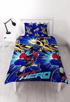 Transformers Hero Einzel Bettbezug Kinder Jungen Blau Schlafzimmer Bettwäsche