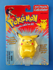 Pokemon #25 Pikachu #35 Clefairy Calculator Lot by Toy Island 1998 MOC SEALED