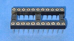 Präzisionsfassung / IC-Fassung / IC-Sockel, 22-polig, breit, Menge nach Wunsch
