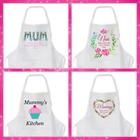 Personalised Apron Christmas,  Mother's day Birthdays wedding, Present for Mum