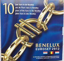 2012 BENELUX SET - 3 X 8 BEL - NL - LUX