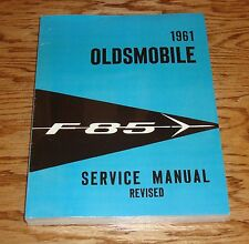 1961 Oldsmobile F-85 Shop Service Manual 61