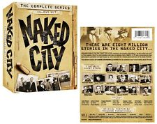 THE NAKED CITY 1-4 (1958-1963): COMPLETE CLASSIC TV Season Series -  NEW DVD R1