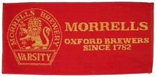 MORRELLS BREWERY VARSITY (Red) Pub Beer BAR TOWEL