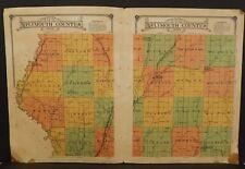 Iowa Plymouth County Map  1914 Dbl Pg  W10#49