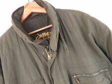 vtg158 Camel Collection Vintage Jacke Mantel Rolle Kapuze Trophäe Original Größe