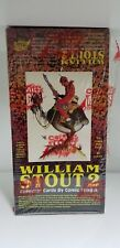 1994 William Stout 2 Trading Card Box Comic Image Collector Factory sealed box