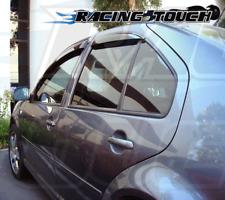 Out Channel Window Visors Rain Guard Sunroof 5pcs Volkswagen VW Golf 99-05