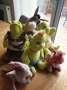 Shrek Toy Plush Bundle.                   34