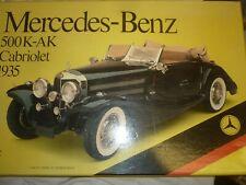 POCHER Métal & Plastique Kit De 1935 Mercedes Benz 500K Cabriolet