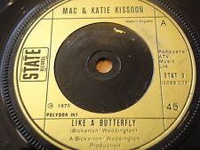 """MAC & KATIE KISSOON - LIKE A BUTTERFLY   7"""" VINYL"""