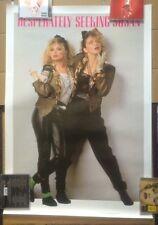 """MADONNA Original Vintage """"Desperately Seeking Susan"""" 1985 Anabas Poster"""