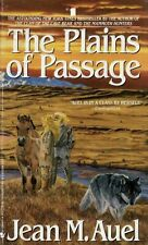 The Plains of Passage by Jean M. Auel, Paperback - Like New