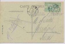 LM74242 Senegal to Switzerland views landscapes fine postcard used