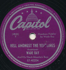78 14BB - HILLBILLY/FIDDLE - CAPITOL 57-40204 - WADE RAY