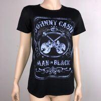Zion Johnny Cash Man in Black T Shirt L